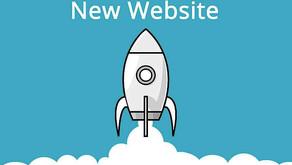 3. 2. 1. Blast Off - New Website!