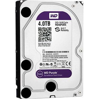 4 ТБ Жесткий диск WD Purple IntelliPower