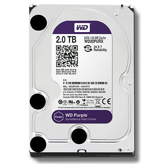 2 ТБ Жесткий диск WD Purple IntelliPower