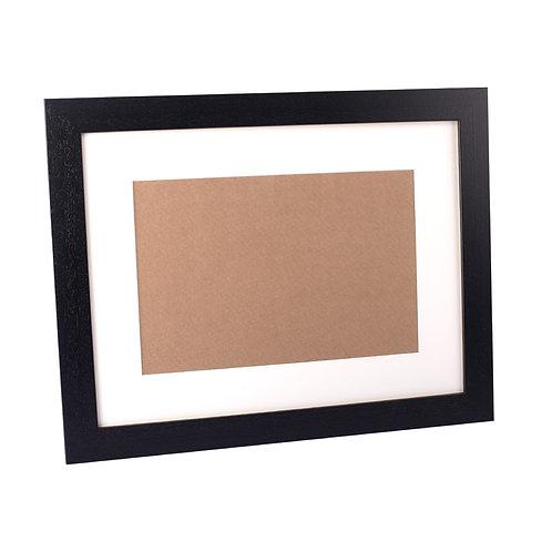 Black Wooden Frame 30x22inch