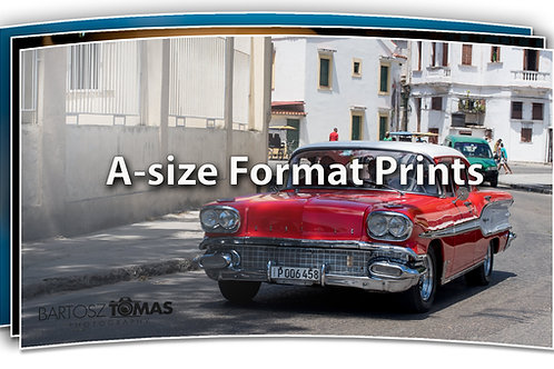 Print A-size Format