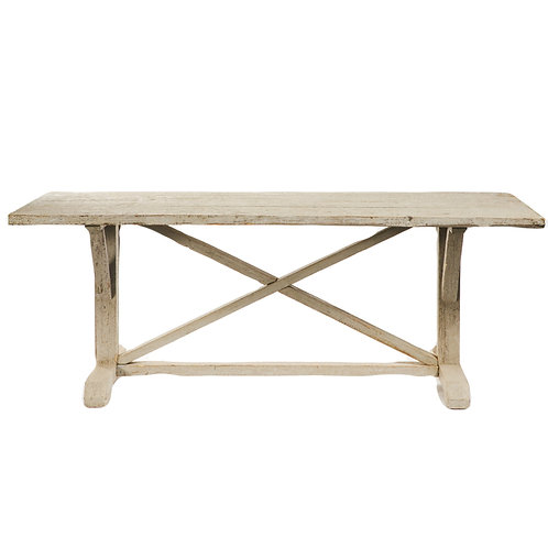 Grey Rustic Farm Table