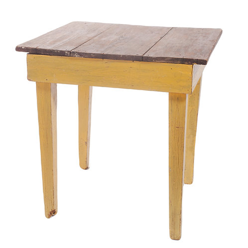 Yellow Farm Table
