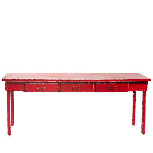 Red Farm Table