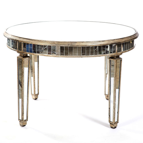 Mirror Round Dining Table