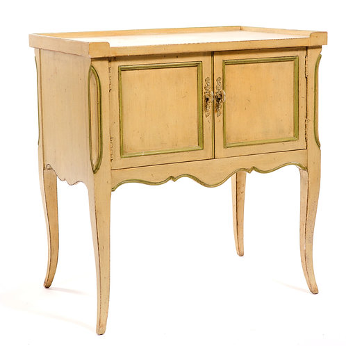 Two Door French Side Table