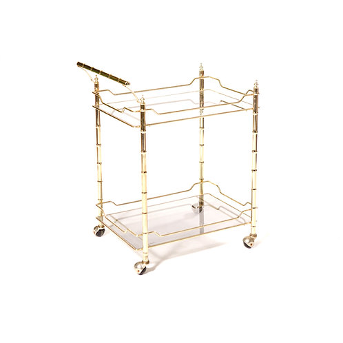 Glass Bar Cart