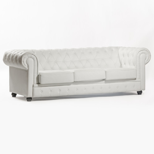 White Chesterfield Couch | John Gandy Events   Tallahassee   Event  Planning, Design U0026 Production
