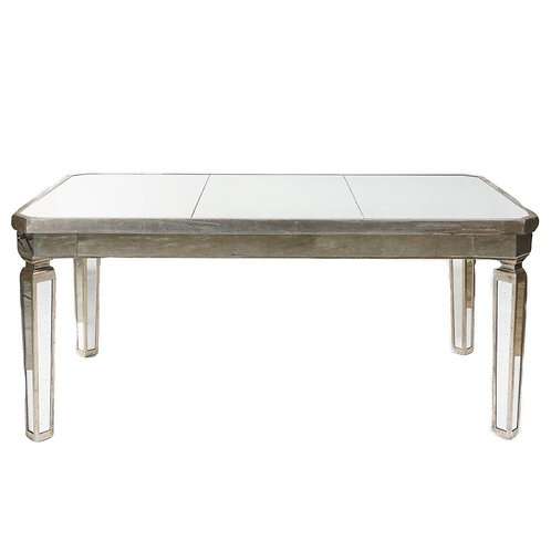 Rectangle Mirror Table