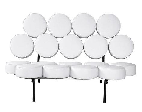 White Marshmallow Sofa