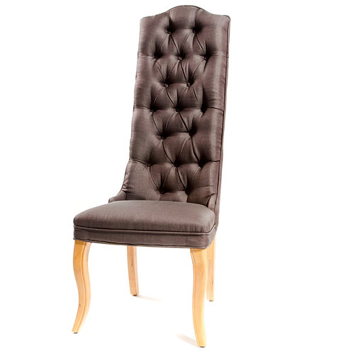Grey Tall Back Chairs