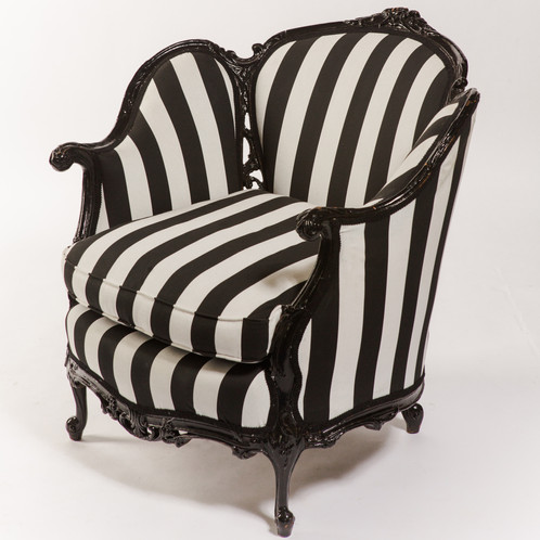 black and white striped furniture. replacement cost 1750 black and white striped furniture w