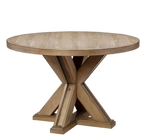 Wooden Round Dining Table