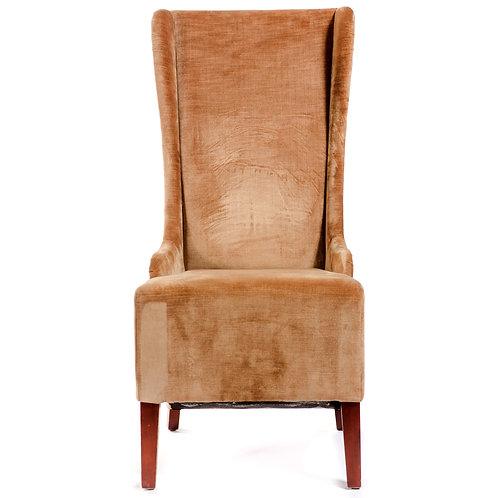 High Back Velour Chair