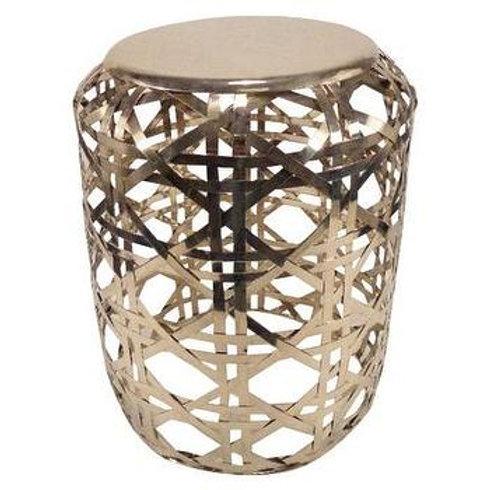 Basket Weave Side Table