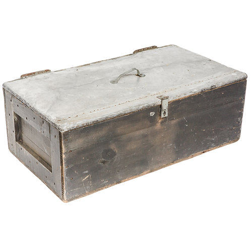 Metal Top Ammo Box