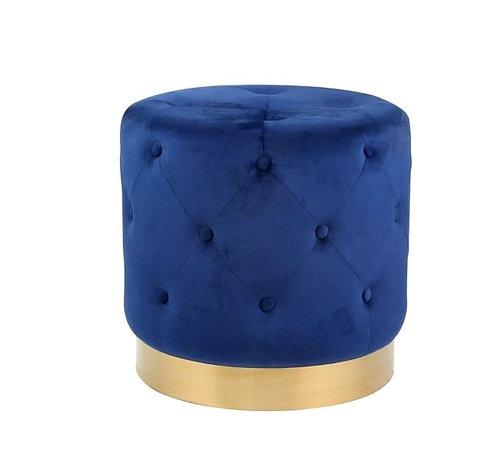 Dark Blue Ottoman