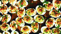 Deviled Eggs... with Bacon