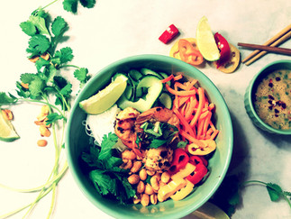 Thai Grilled Prawn Salad