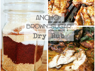 Ancho Chile Brown Sugar Dry Rub