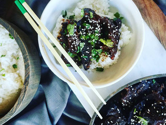 Sticky Asian Short Ribs