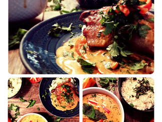 Pangang Curry with Roast Duck Legs