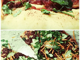 "Korean ""Street Taco"" Pizza"