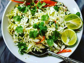 Jalapeno Lime Coleslaw