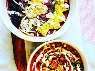 Smoothie Bowls... The Breakfast of Trendy Champions