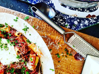 Beef Ragu with Rigatoni (And Comeback Kitchen Chatter)