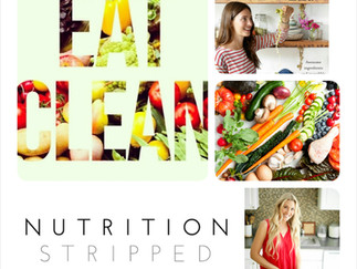 Clean Eating... MY Synopsis
