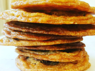 Buttery, Sugary, Chewy, Flat Cookies (the best ever)