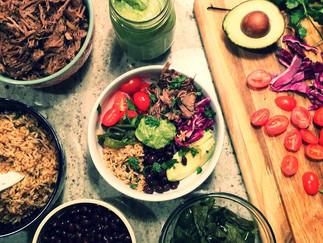 Barbacoa Bowls, satisfying and healthy!