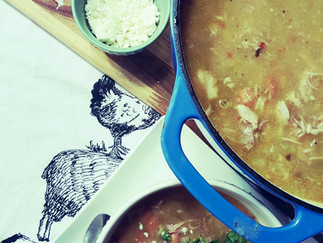 Pork Chile Verde Soup