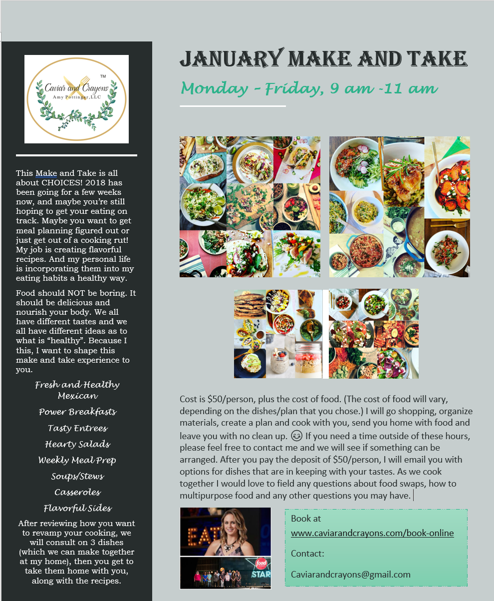 Make and Take- Happy Healthy New Year