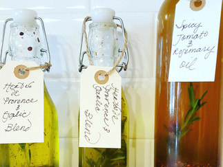 Infused Olive Oils... Sophisticated Made Easy