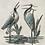 Thumbnail: Double Heron Garden Wall Plaque