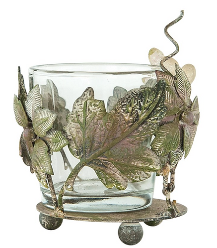 Wire-Wrapped Votive