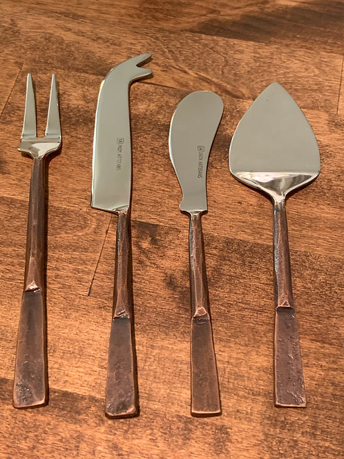 Hand Forged Cheese Utensils