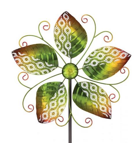 Wind Spinner ~ Green Leaves