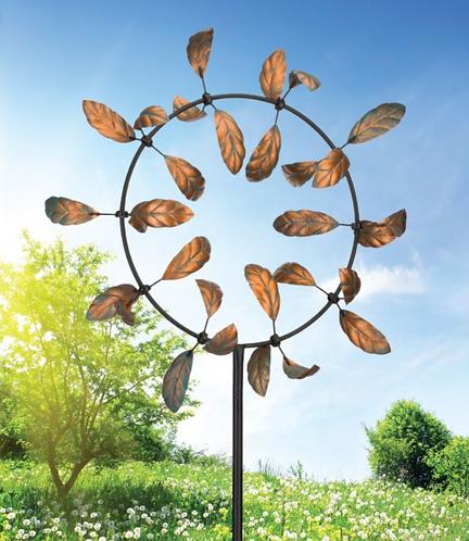 Vortex Wind Spinner ~ Leaves