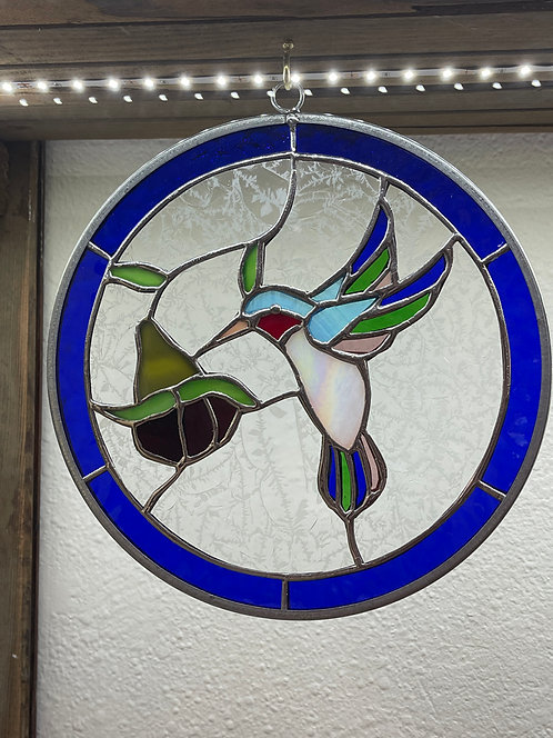 Handmade Stained Glass Suncatchers