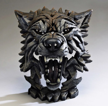 Wolf - Edge Sculpture