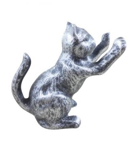 Cast Iron Cat Door Stopper