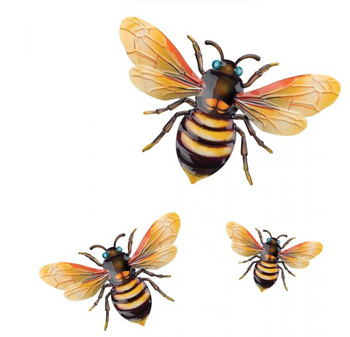 Luster Bee Wall Decor