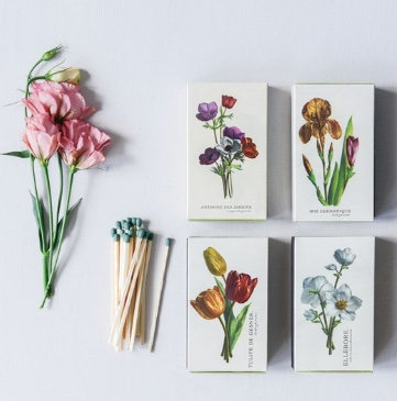 Floral Box Matches