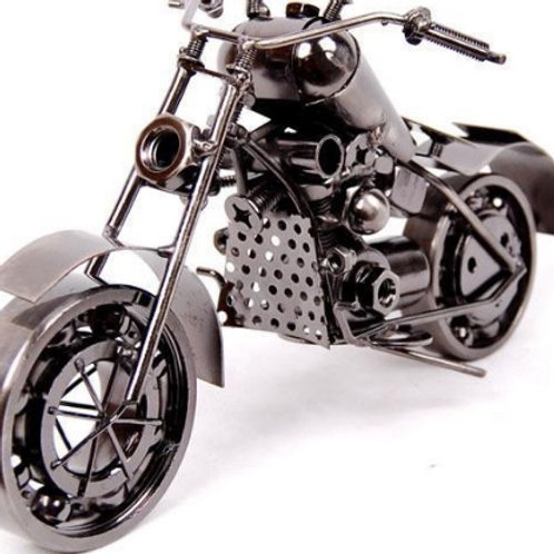 American Style Vintage Iron Motorcycle