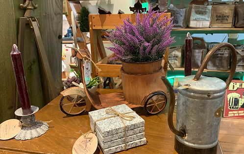 Planter, Coasters, Candle Stick Holder