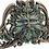Thumbnail: Green Man: Winter Mistletoe Wall Plaque