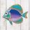 Thumbnail: Butterfly Fish Wall Decor
